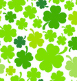 Four-leaf clover background vector image vector image
