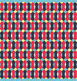 geometric abstract color seamless pattern quality vector image vector image