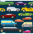 Passenger car background seamless vector image vector image