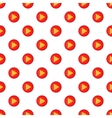 Play button pattern cartoon style vector image vector image