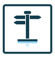 Pointer stand icon vector image vector image