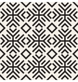 Seamless Black and White Geometric Ethnic vector image vector image