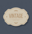 vintage labels and frame design elements for vector image