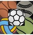 Set sport background vector image
