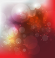 Abstract bokeh blur background vector image vector image