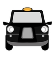 black british cab graphic vector image