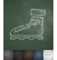 boots icon Hand drawn vector image vector image
