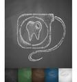dental floss icon vector image vector image