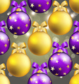 New Year pattern with ball Christmas wallpaper