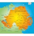 Northen Ireland vector image vector image