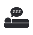 Sleep icon vector | Price: 1 Credit (USD $1)