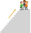 successful teamwork business people vector image