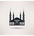Mosque building a religious symbol icon vector image
