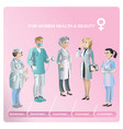 cartoon healthcare medical collection vector image