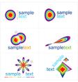 Design elements Icons set vector image