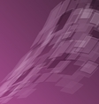 Abstract purple background with geometric vector image vector image