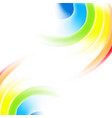 abstract rainbow gradient mesh multicolored vector image