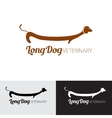 for pets shop animal clinic or vector image vector image