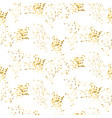 gold shimmer placer seamless pattern vector image vector image