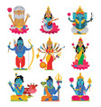 indian god hindu godhead of goddess vector image