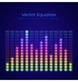 Rainbow equalizer vector image vector image