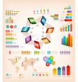 Set of Info graphics elements vector image