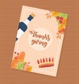 wine bottle crown feathers leaves decoration happy vector image vector image