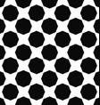 Abstract monochrome octagon pattern background vector image vector image
