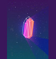 abstract vertical backdrop with glowing neon vector image vector image