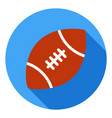 american football icon sports ball symbol modern vector image