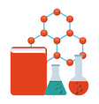 chemistry concept vector image vector image