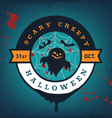 Halloween Party Design Elements vector image