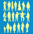 people 2 vector image vector image