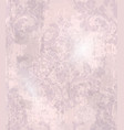 vintage baroque pattern beautiful ornament vector image vector image