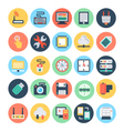 Technology and Hardware Icons 1 vector image