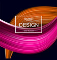 abstract background colorful curve imag vector image