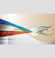 Beautiful abstract background vector image vector image