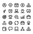 Human resources line icons 2