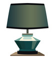 night lamp blue background format eps10 vector image