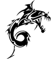 Sea Monster - Vinyl-ready vector image