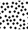 seamless abstract geometric pattern of black vector image vector image