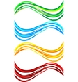 set wavy banners vector | Price: 1 Credit (USD $1)