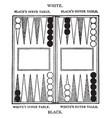board game vintage vector image vector image