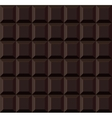 Dark Tile Chocolate Seamless Background vector image
