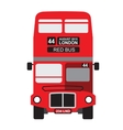 London bus icon vector image vector image