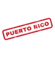 Puerto Rico Rubber Stamp vector image