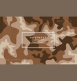 abstract camo modern background vector image