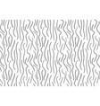 abstract fur texture seamless pattern animal skin vector image