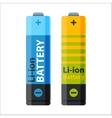 Battery energy electricity tool vector image vector image