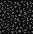 chemistry seamless pattern with dark vector image